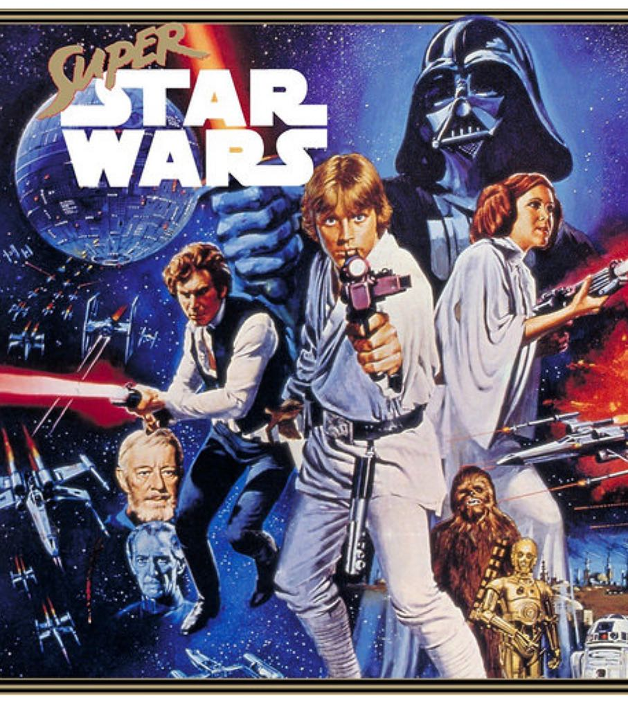 Super Star Wars - PS4 cover