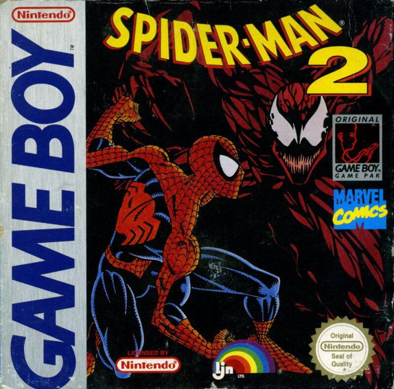 SPIDER-MAN 2 - Game Boy cover