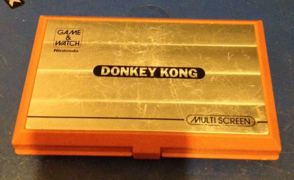 Donkey Kong - LCD Handheld Game cover