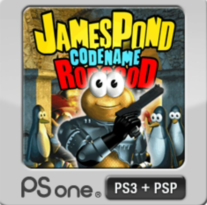 James Pond II Codename: Robocod - Playstation Network cover