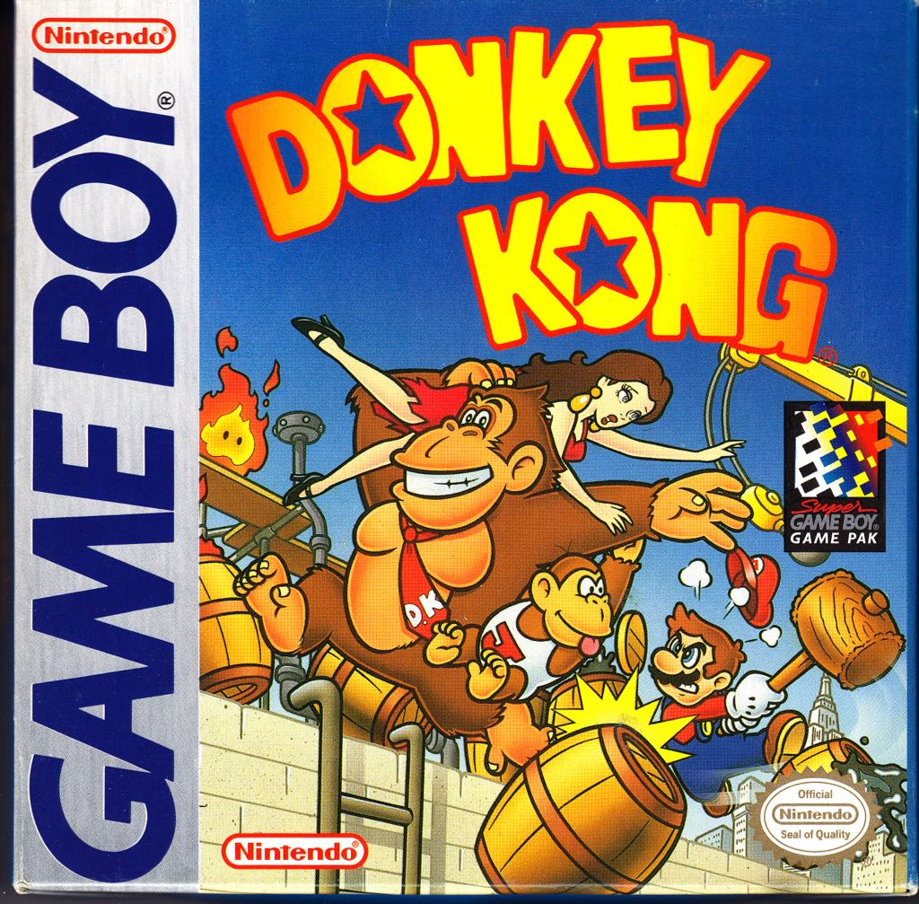 Donkey Kong -  cover
