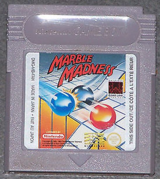 Marble Madness - Game Boy cover