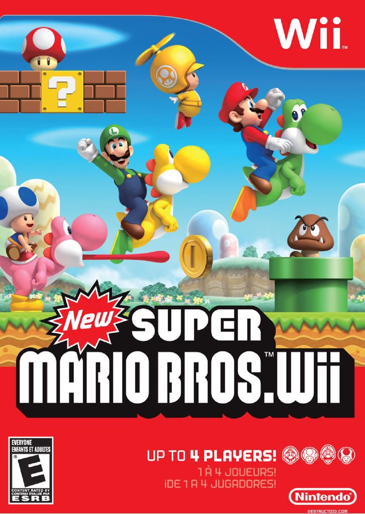 New Super Mario Bros. Wii - Other cover