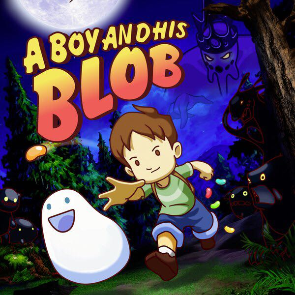 A Boy And His Blob - PS4 cover