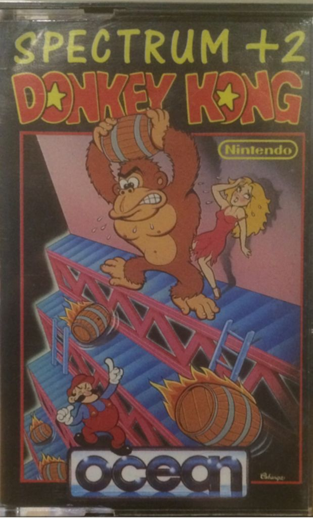 Donkey Kong - Sinclair ZX Spectrum cover