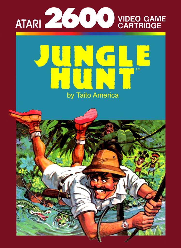 Jungle Hunt - Atari 2600 cover