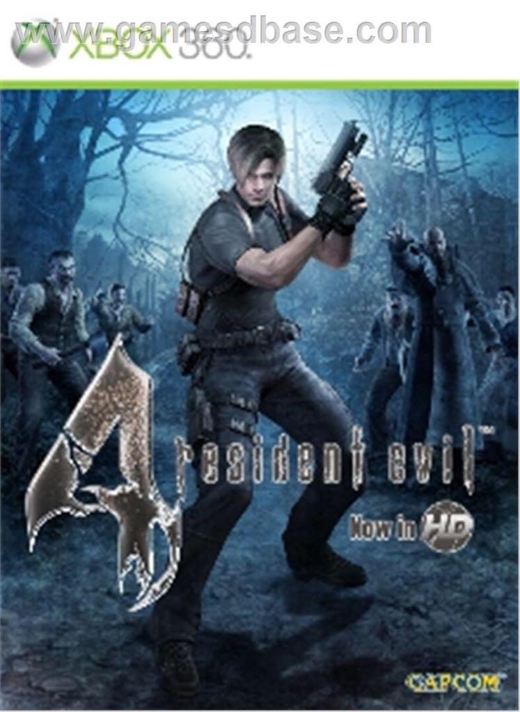resident evil 4 - Xbox Live Arcade cover