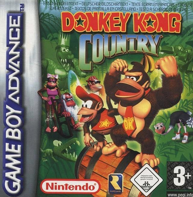 Donkey Kong Country - Game Boy Advance cover