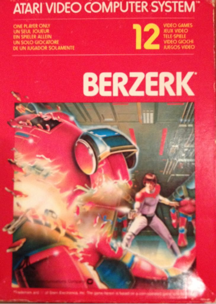 Berserk - Atari 2600 Jr. cover
