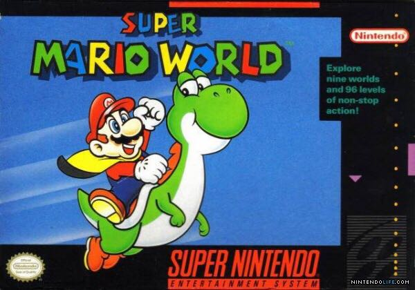 Super Mario World - 3DS cover