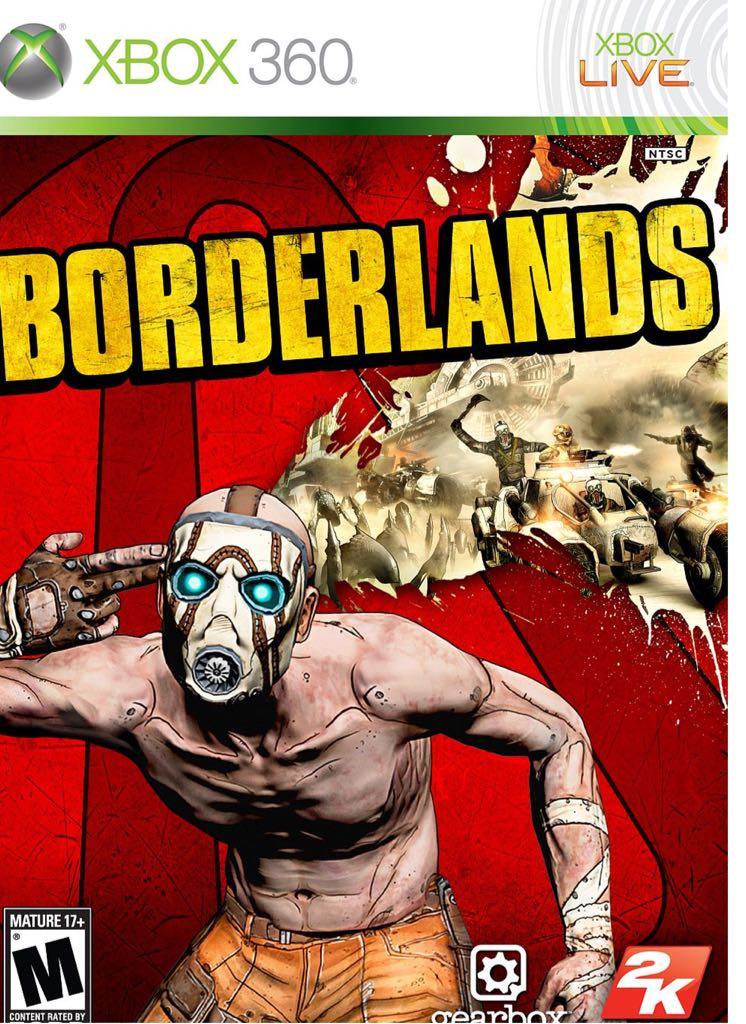 Borderlands - Xbox Live cover