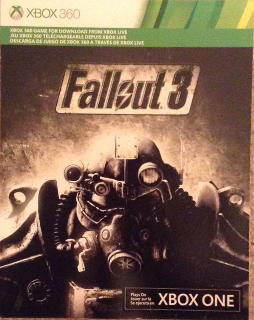 Fallout 3 - Xbox One cover