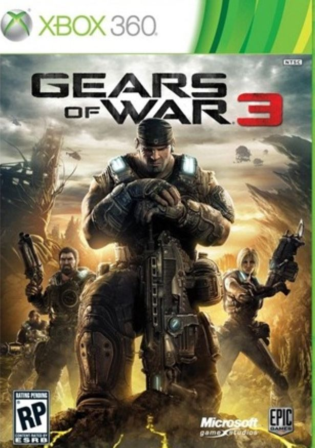 Gears Of War - Xbox Live cover