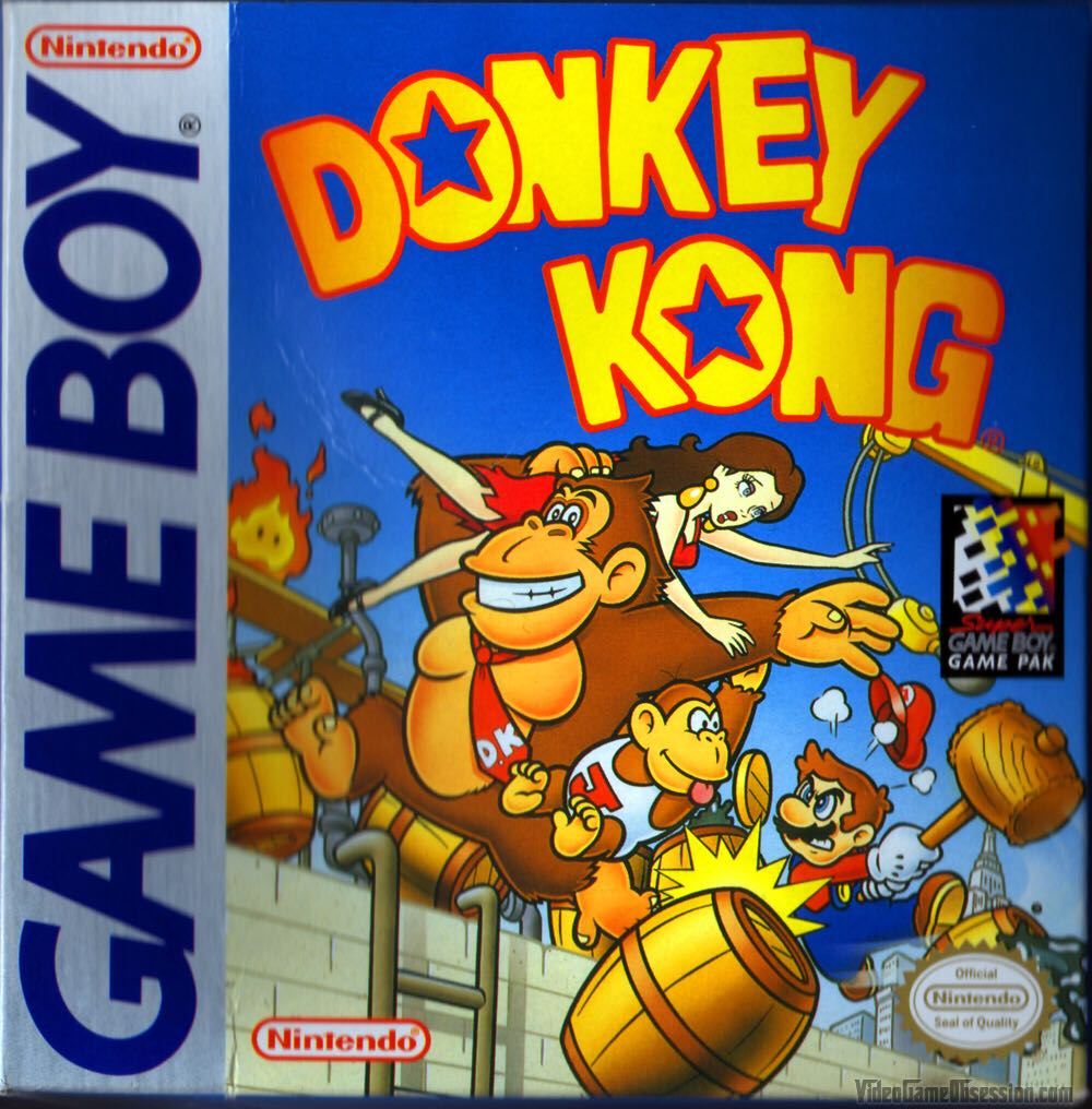 Donkey Kong - Game Boy cover