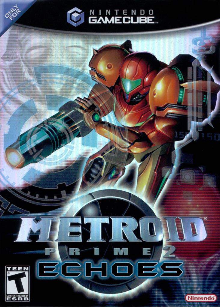 Metroid Prime 2: Echoes - Wii U Virtual Console cover