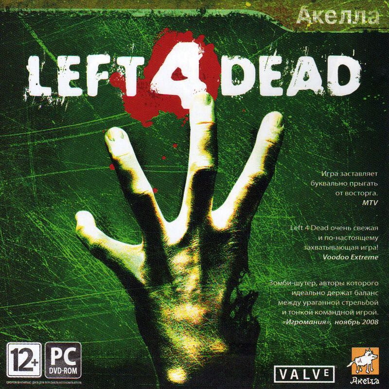 Left 4 Dead - Steam cover