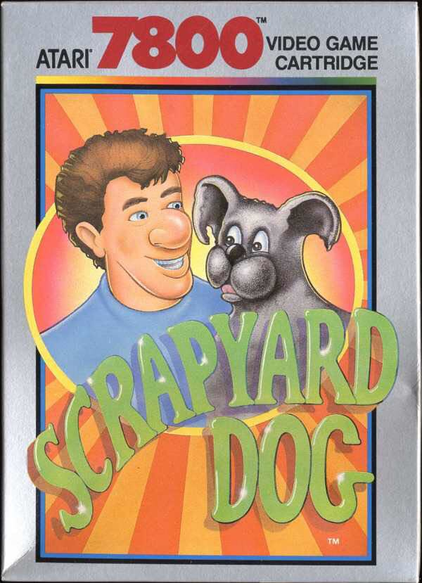 Scrapyard Dog - Atari 7800 cover