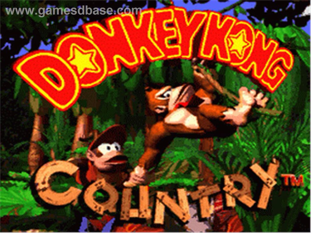 Donkey Kong Country - Wii Virtual Console cover