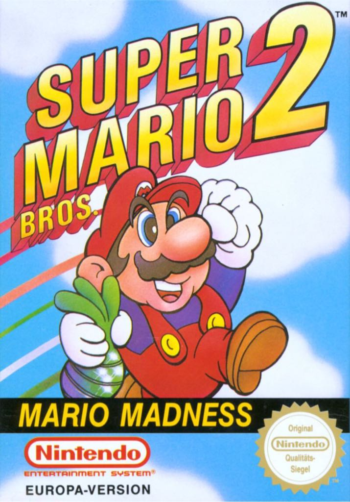 Super Mario Brothers 2 - 3DS Virtual Console cover