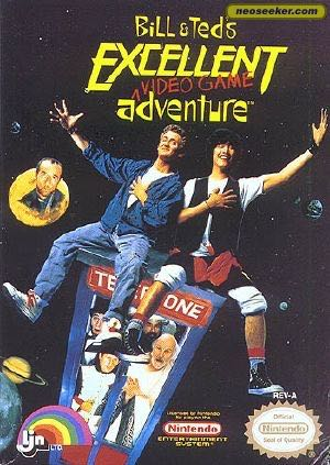 Bill and Teds Excellent Adventure - NES cover