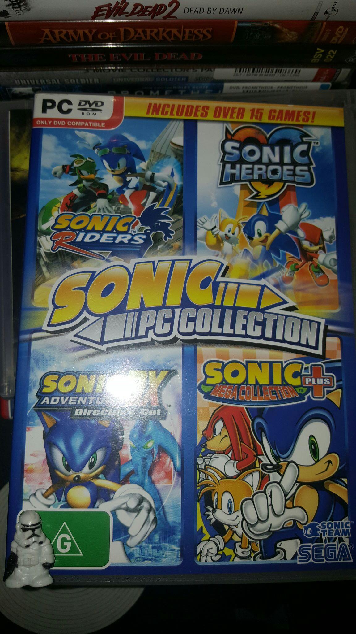 Sonic Mega Collection Plus - PC cover