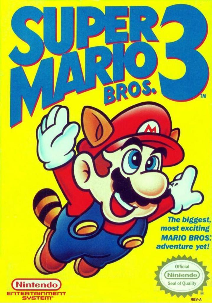 Super Mario Bros. 3 - Wii U cover