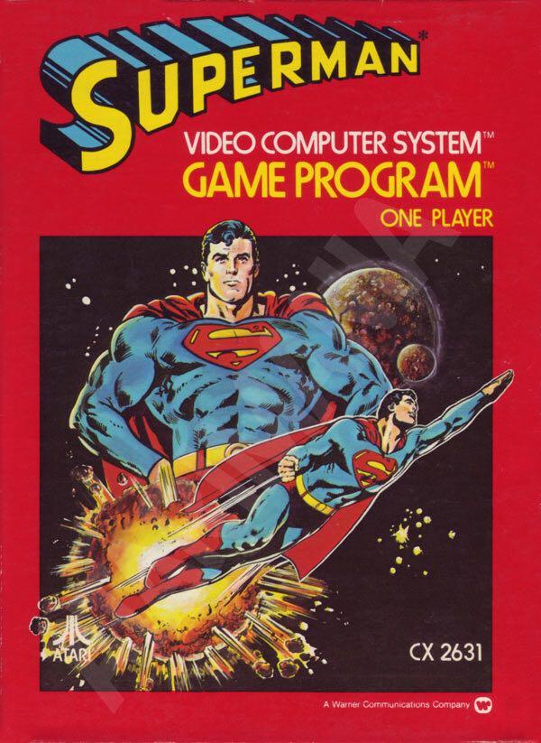 Superman - Atari 2600 cover