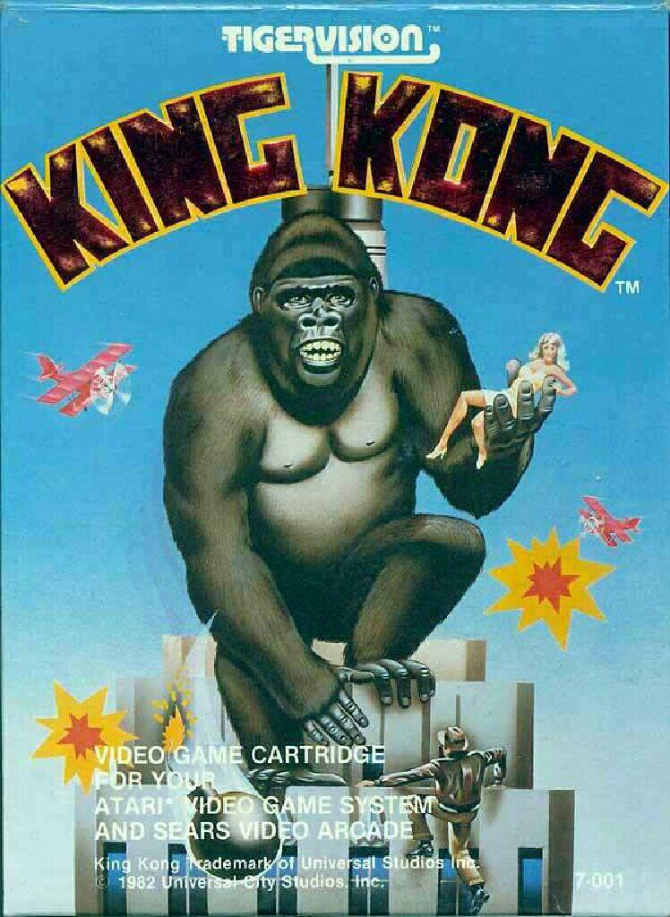 KING KONG - Atari 2600 cover