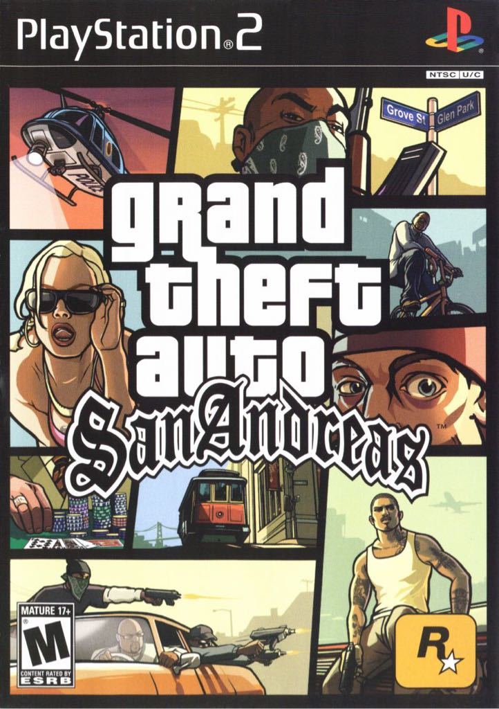 Grand Theft Auto: San Andreas - Playstation Network cover