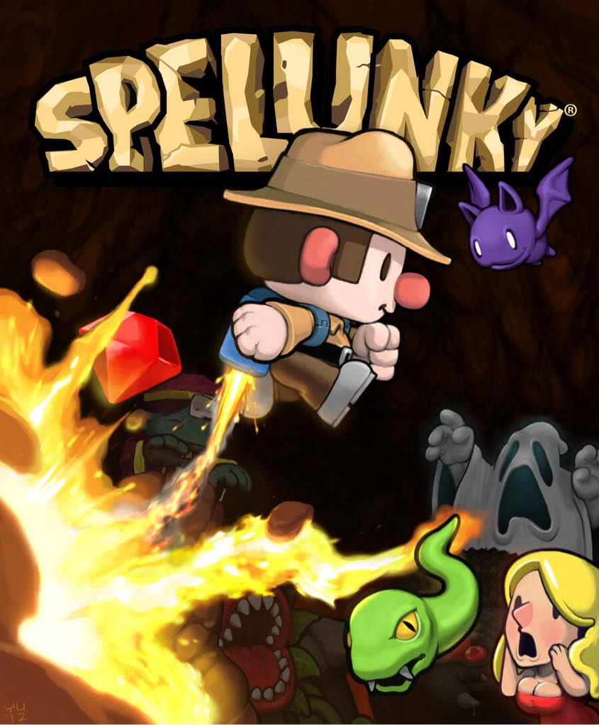 Spelunky - GOG cover