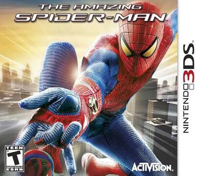 The Amazing Spider-Man - 3DS cover