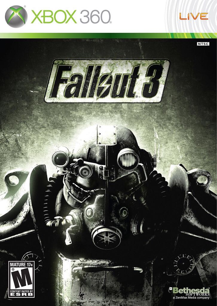 Fallout 3 - Xbox Live cover