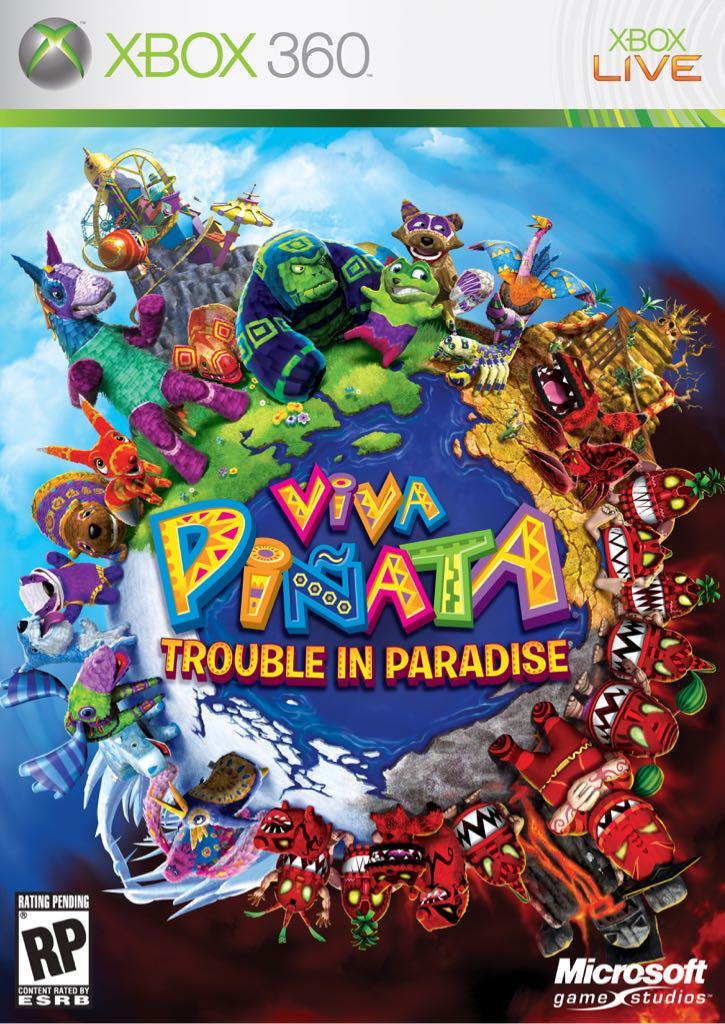 Viva Pinata: Trouble in Paradise - Xbox Live cover