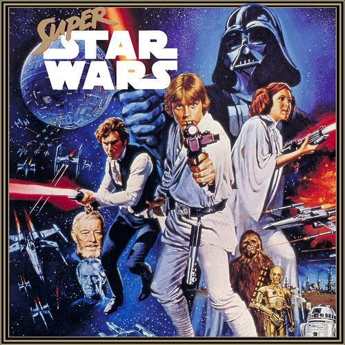 Super Star Wars - Playstation Network cover
