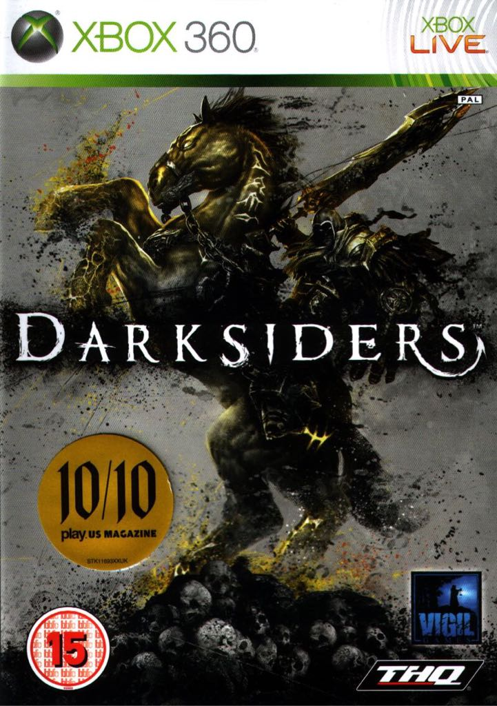 Darksiders - Xbox Live cover