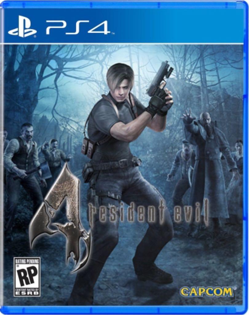 resident evil 4 - PS4 cover