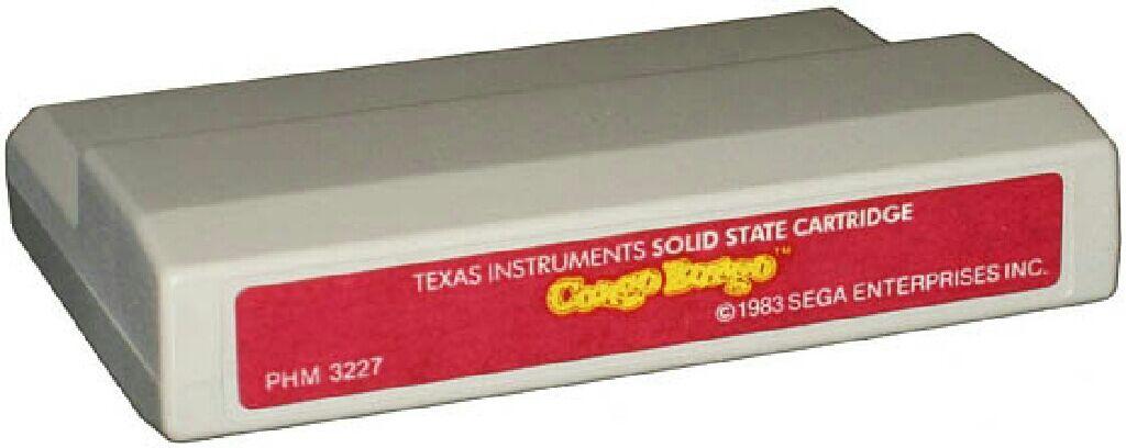 Congo Bongo - Texas Instruments TI-99 cover