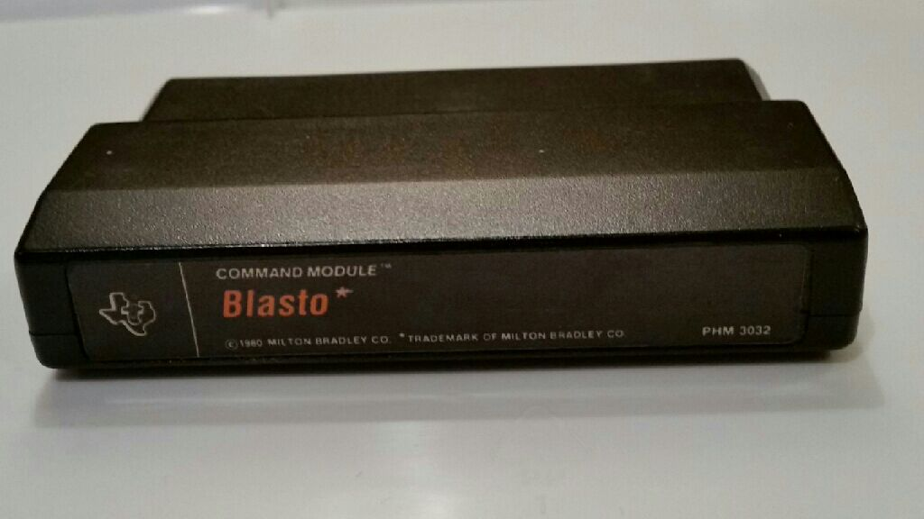 Blasto - Texas Instruments TI-99 cover