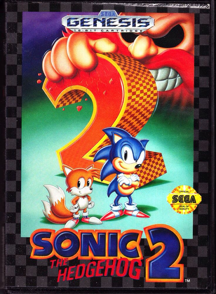 Sonic The Hedgehog 2 - Steam cover