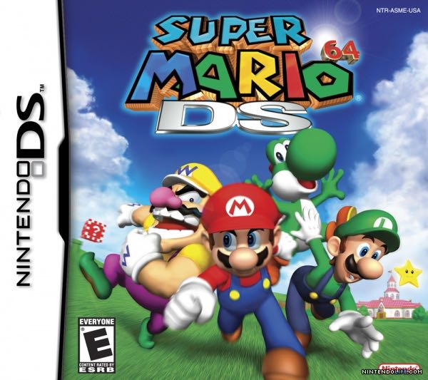 Super Mario 64 DS - Wii U Virtual Console cover