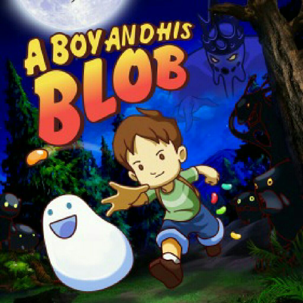 A Boy And His Blob - PS Vita cover