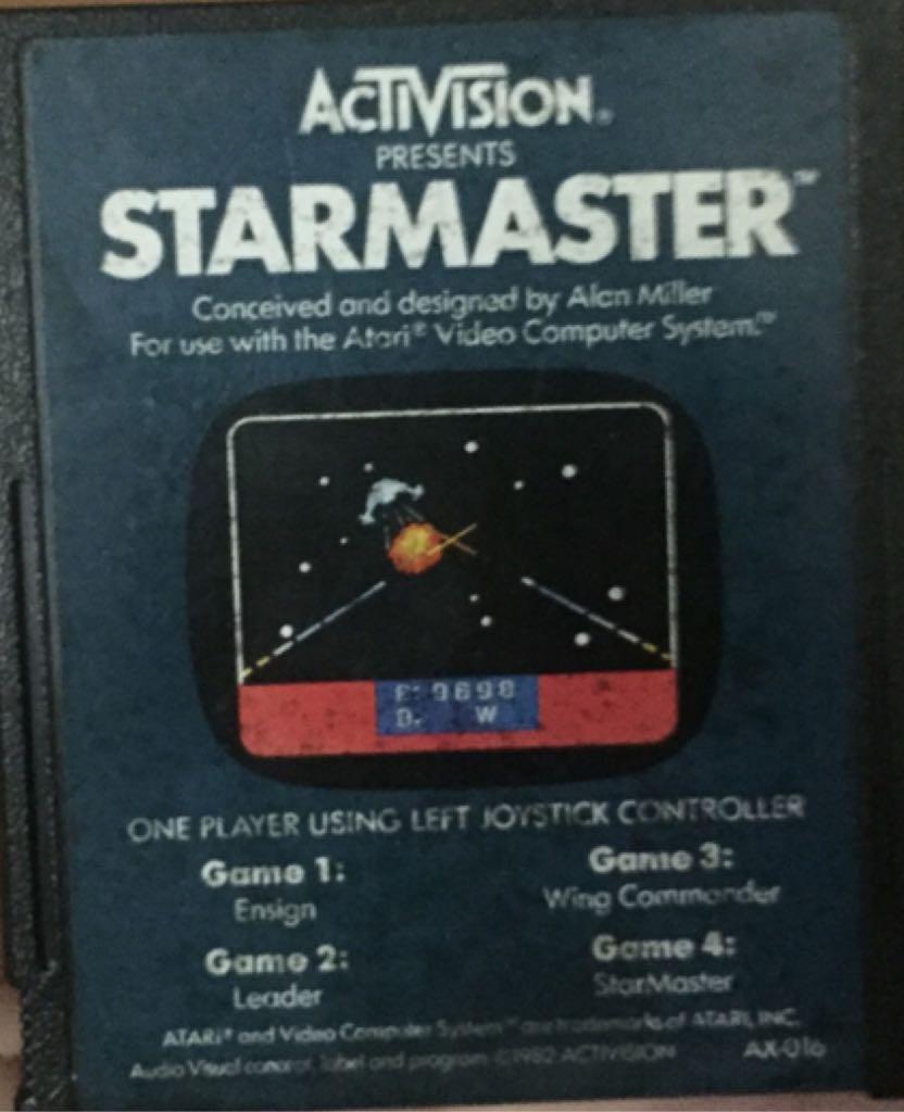 Starmaster - Atari 2800 cover