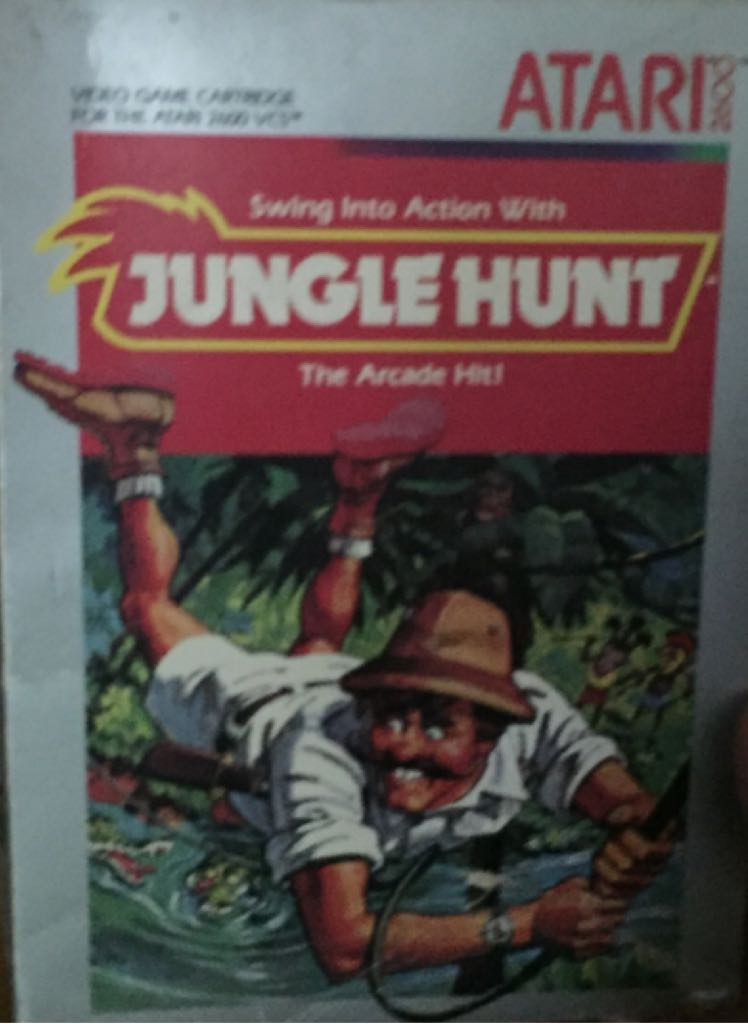 Jungle Hunt - Atari 2800 cover