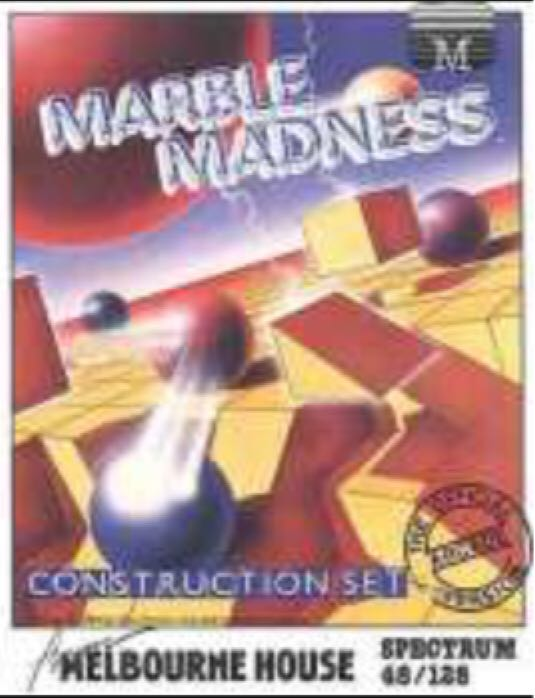 Marble Madness - Sinclair ZX Spectrum cover