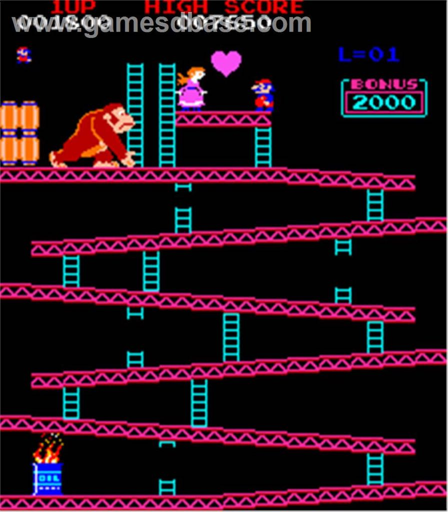 Donkey Kong - Arcade cover
