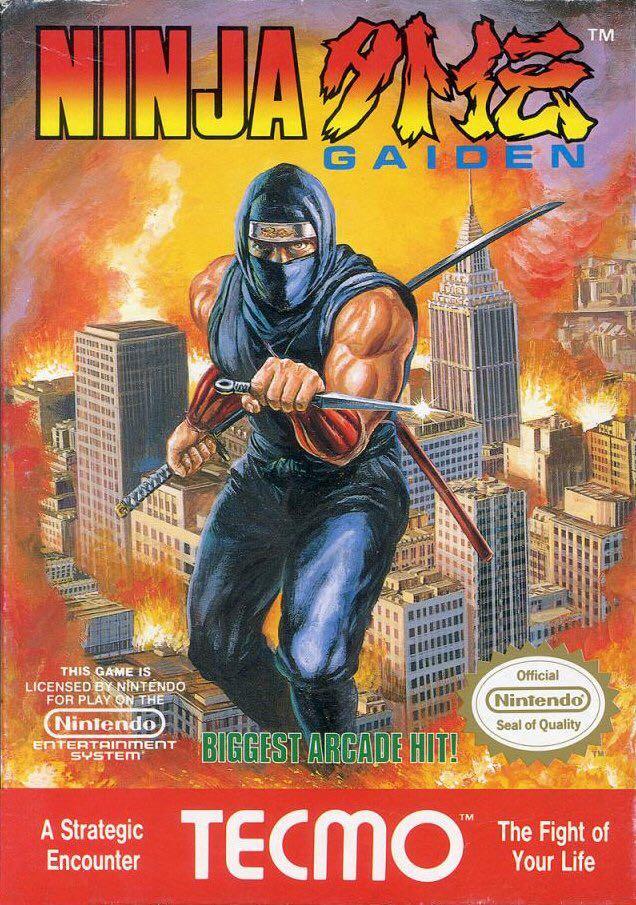NINJA GAIDEN - NES cover