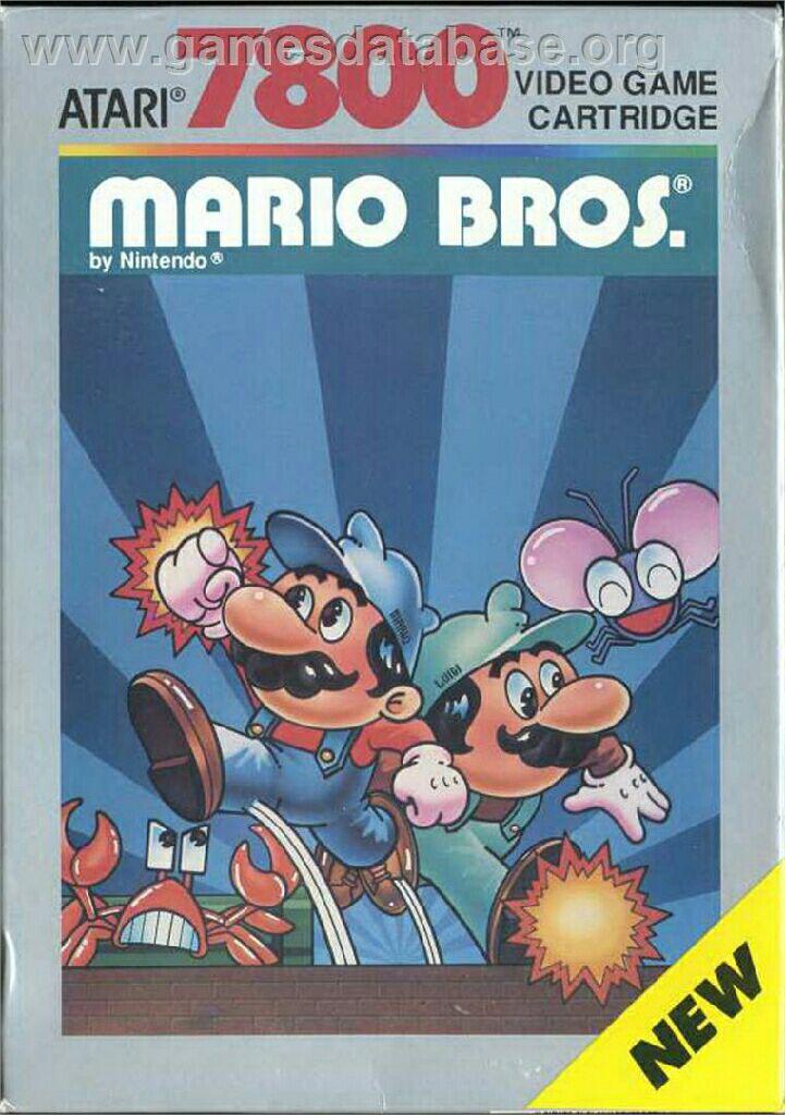 Mario Bros. - Atari 7800 cover