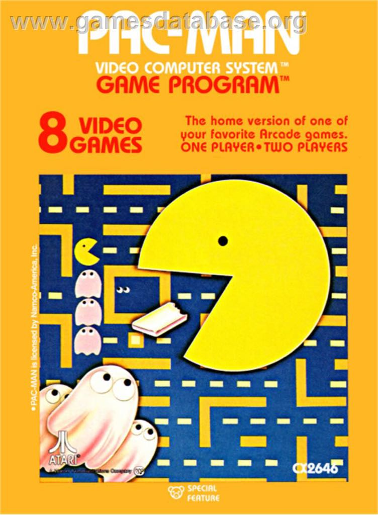 Pac-Man - Atari 2600 Jr. cover