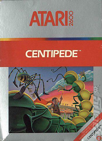 Centipede - Atari 2600 cover