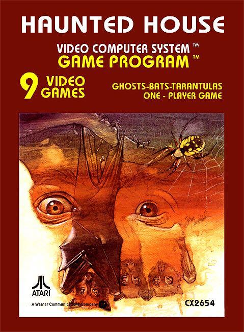 Haunted House - Atari 2600 cover